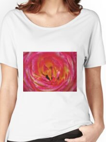 Precious Rose Women's Relaxed Fit T-Shirt