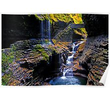 Rainbow Waterfalls Poster
