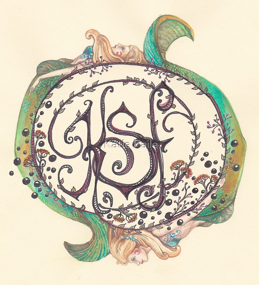 Katie Scarlett Faile Art Logo by Katie Faile
