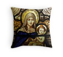 Mary's Window Throw Pillow