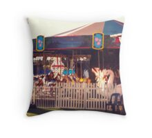Ethereal carousel Throw Pillow
