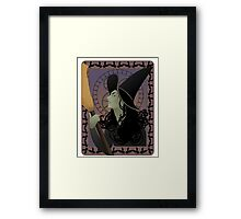 The Wicked Witch Framed Print