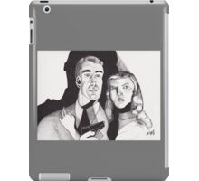 Film Noir with a Gun iPad Case/Skin