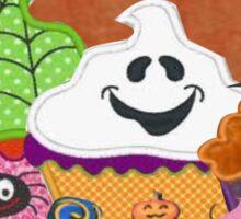 Halloween Cupcakes Sticker