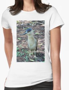 Young Heron Womens Fitted T-Shirt