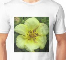 Soft Yellow Bloom Unisex T-Shirt