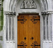 Church Doorway by Orla Cahill Photography