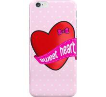 Cute sweet heart iPhone Case/Skin