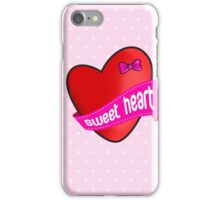 Cute sweet heart iPhone Case/Skin