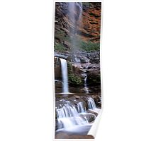 Lower Wentworth Falls Poster