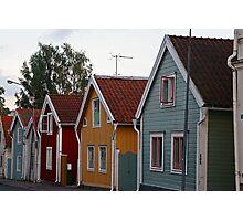 Nyköping colours Photographic Print