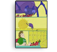 """""""This kept the brain both happy, and active for Rob that night"""" Canvas Print"""