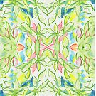 Plant Leaves pattern by MikeJory