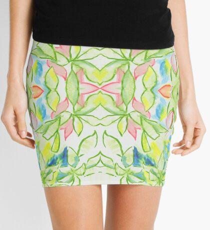 Plant Leaves pattern Mini Skirt