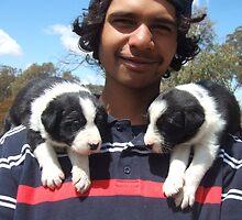 Shoulder pups by BackTrack