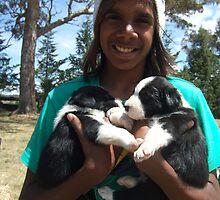 Shaun and pups by BackTrack