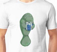Christmas Manatee Unisex T-Shirt
