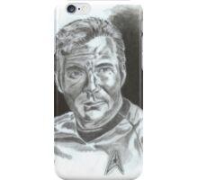 William Shatner as Captain James Kirk iPhone Case/Skin