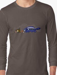 Doctor Totoro Long Sleeve T-Shirt