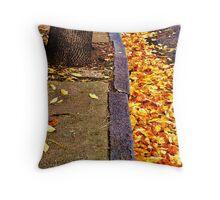 An Autumnal Mess Throw Pillow