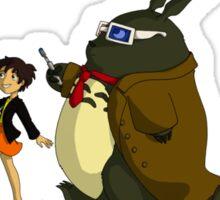 Doctor Totoro Sticker
