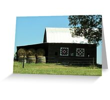 Pattern Barn Greeting Card