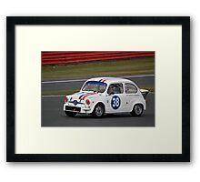 Fiat Abarth Framed Print