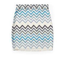 Beach Resort Tones Chevron pattern Mini Skirt
