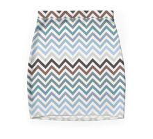 Ancient Aztec Chevron pattern Mini Skirt