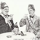 'A toast to good times' by L K Southward