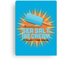 Sea Salt Ice Cream Canvas Print