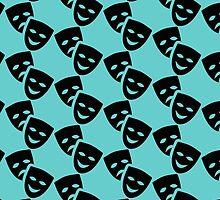 Theatre Masks by shabzdesigns