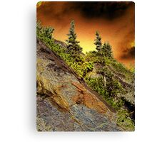 FANTASY IN THE MOUNTAINS Canvas Print
