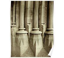 Church Pillars Poster