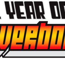 Year of the Hoverboard Sticker