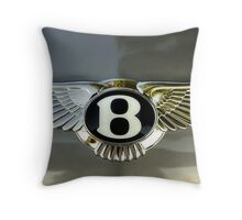 B Is For Bentley Throw Pillow