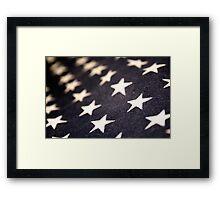 American Stars Framed Print