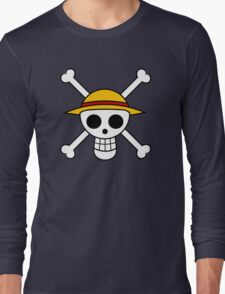One Piece Flag Long Sleeve T-Shirt
