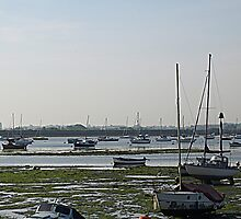 Low Tide at Emsworth by Clive Midson