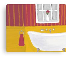 The Bath  Canvas Print