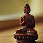 Peace with Buddha by AmyJSmithLA