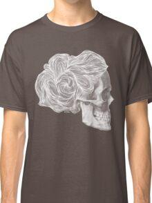 skull per saeta - white ink Classic T-Shirt