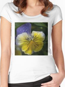 Cheerfully Wet  Women's Fitted Scoop T-Shirt
