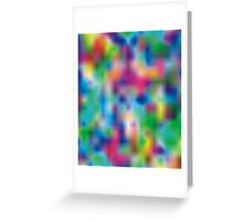 Color Storm Greeting Card