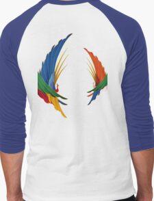 Kimono Crane Men's Baseball ¾ T-Shirt