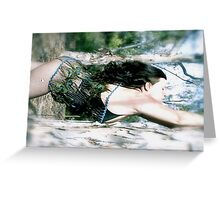Dreaming of Water Greeting Card