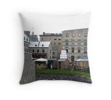 New France, Quebec City Throw Pillow