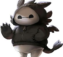 Baymax like as toothless by Cetotmanis