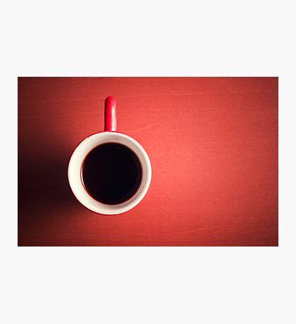 Coffee Cup Photographic Print