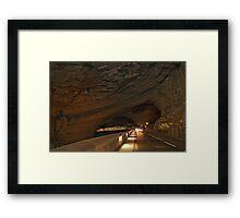 Grotte du Mas d'Azil 2 Framed Print